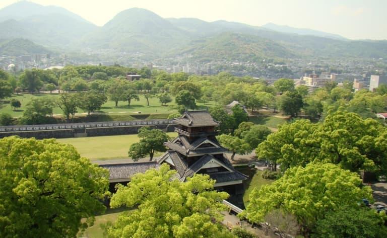 Tenman-gû shrine, Kômyôzen-ji temple and Kyûshu National Museum
