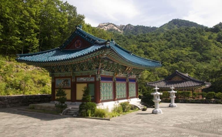 En route pour le parc de Seoraksan