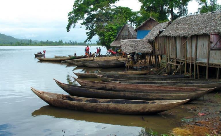 Sur le canal des Pangalames