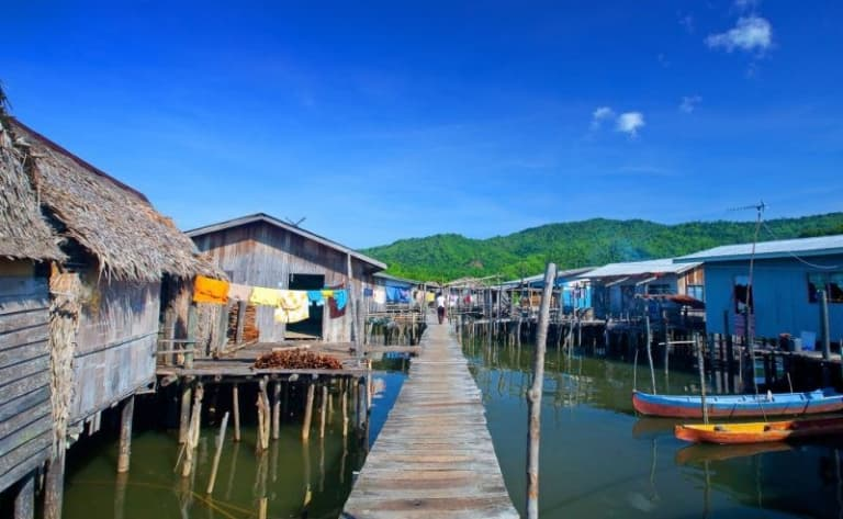 Visite de la ville de Sandakan