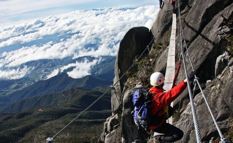 Ascension jusqu'au sommet du Mont Trusmadi