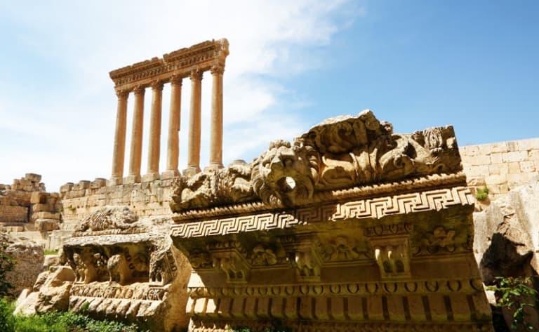Sites anciens de la vallée de la Bekaa