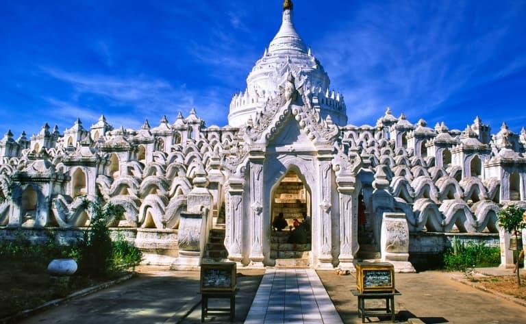 Arrivée  à Mandalay