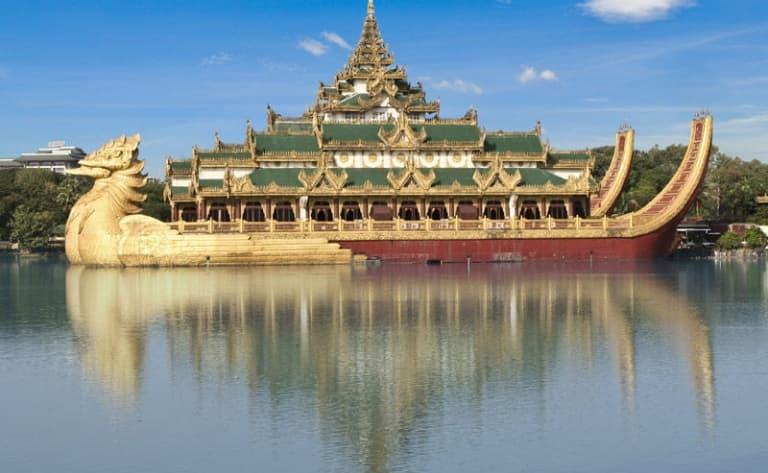 Croisière sur l'Irrawaddy