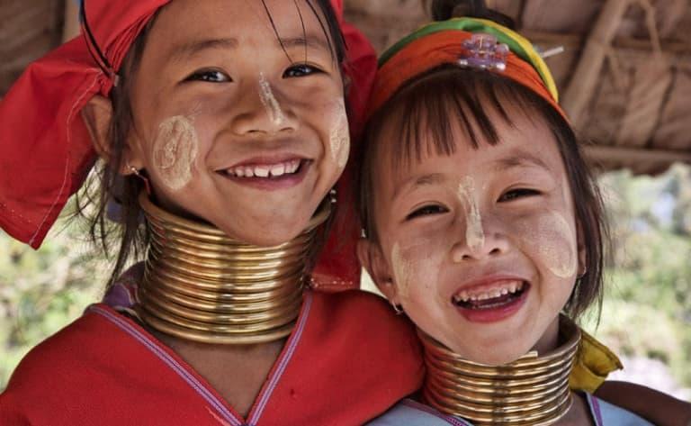 A la rencontre de l'ethnie Padaung