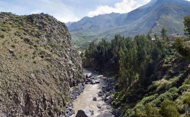 Sur la route du lac Titicaca