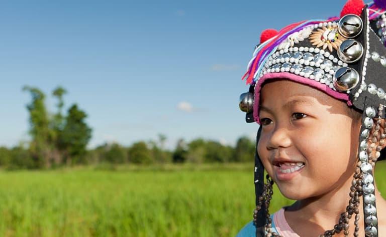 Visite de villages Akah et Lisu