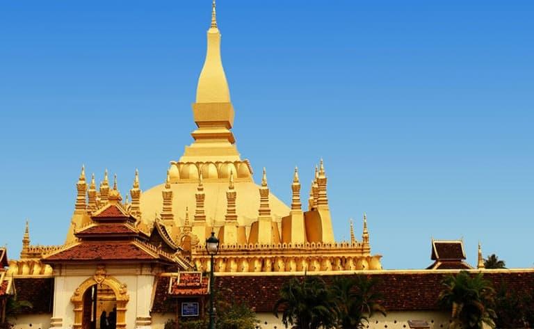 Le plus beau temple du Laos !