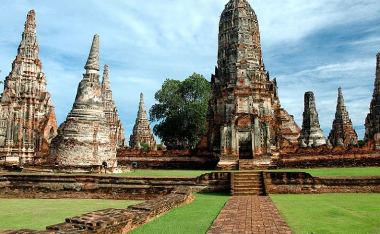Majestueux site de Sukhothai