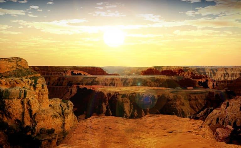 L'immensité de Grand Canyon