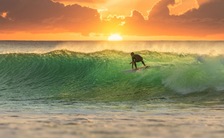 Cours de surf à Manhattan Beach 1h30