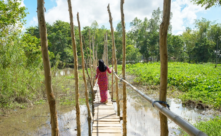 Les charmes du Delta du Mékong