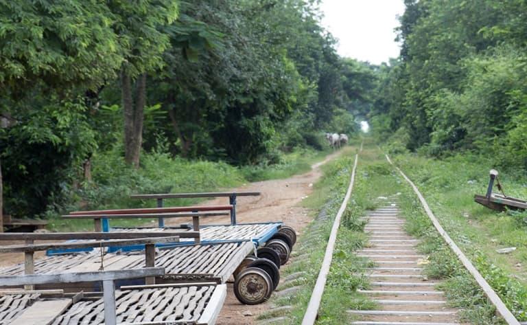 Montez à bord du Bambou train !