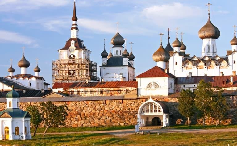 Arrivée sur l'île de Solovki