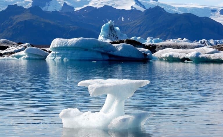 Paysages polaires du sud islandais