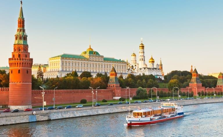 Départ de Moscou