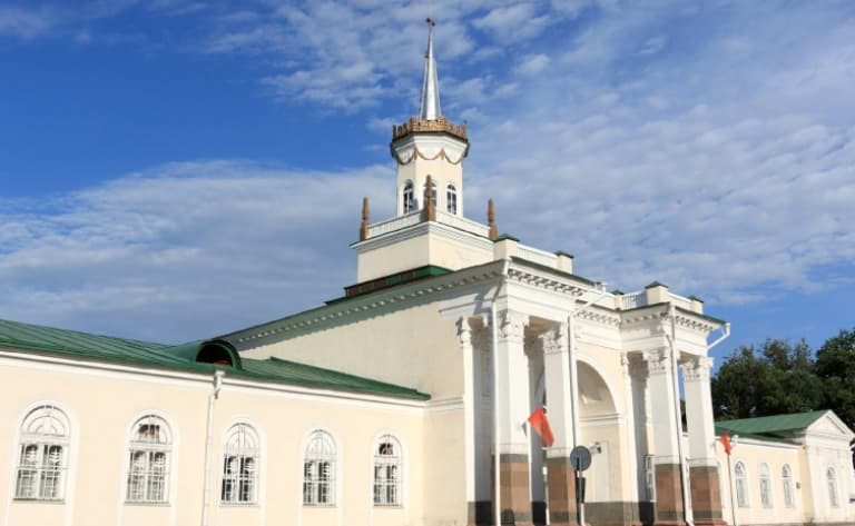 Arrivée au Kyrgyzstan