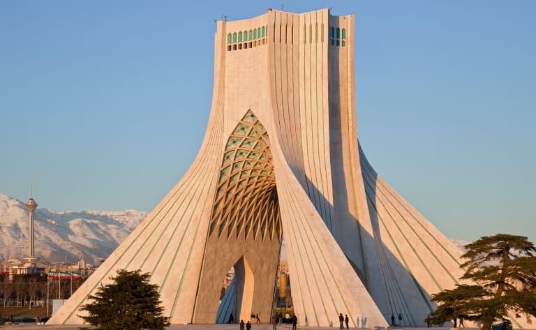 Arrivée en Iran !