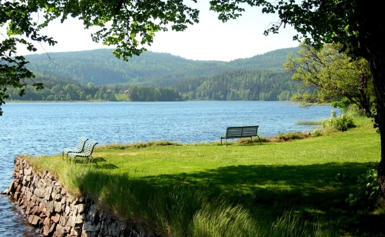 Gjøvik, sur les rives du lac Mjøsa