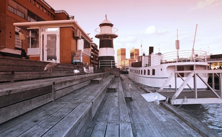 Croisière en direction d'Oslo