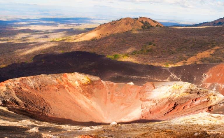 Entre volcan et plage…