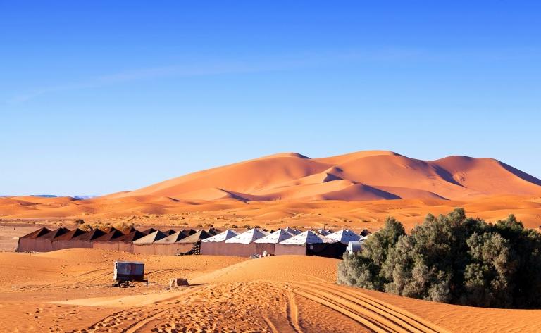 Perdu dans le désert…