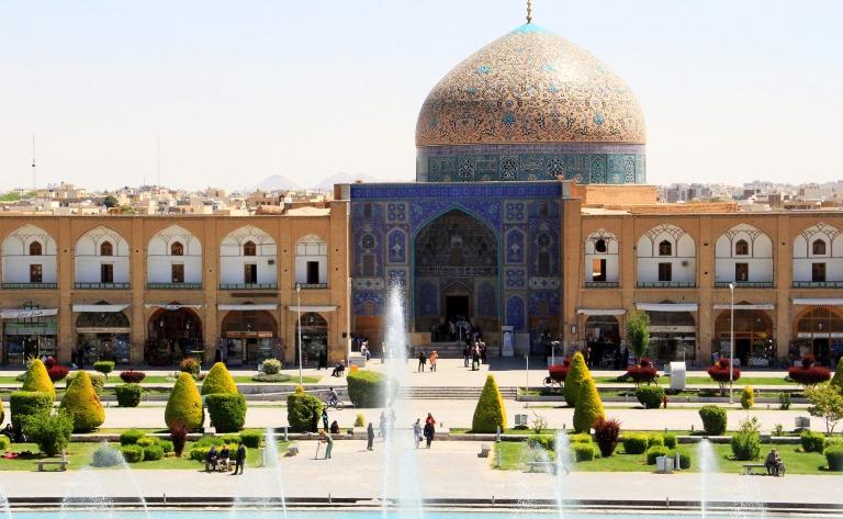 Bazars et mosquées d'Iran