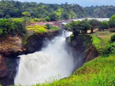 Chute du Nil et safari à Murchison