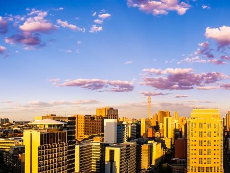 En route pour une visite de Johannesburg…