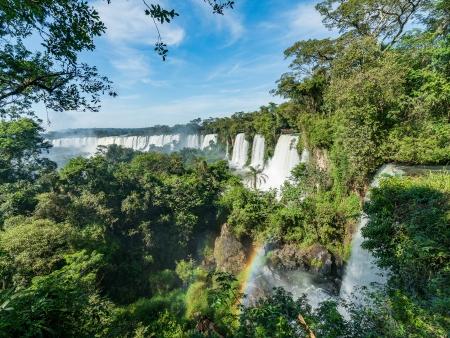 Les chutes d'Iguazu côté argentin