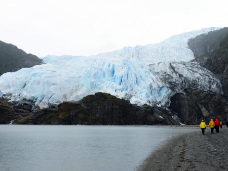 Les glaciers Condor et Aguila