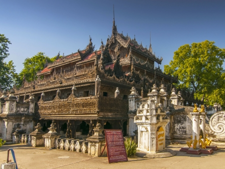 Temples et marchés de Mandalay