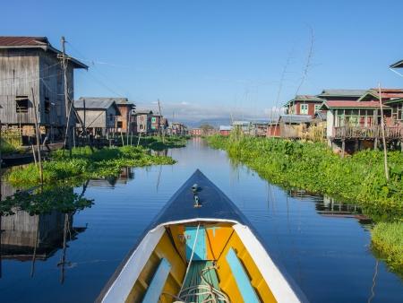 Jardins flottants du lac Inle