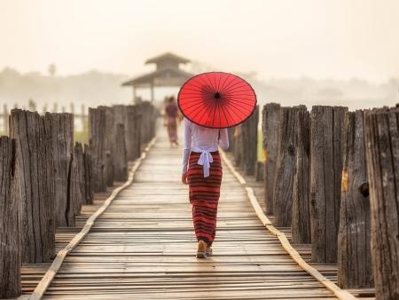 Vestiges d'Amarapura et de Mandalay