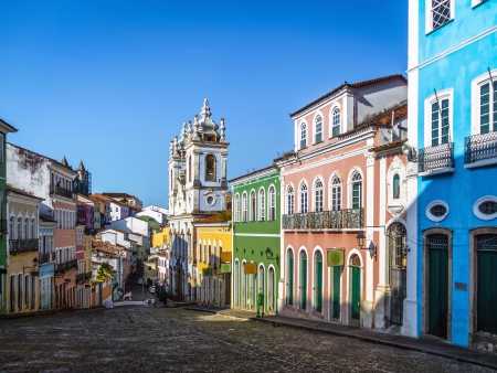 Le Pelourinho, la partie haute de Salvador