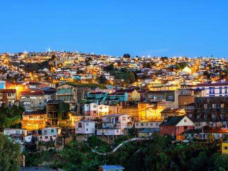 Retour sur Santiago et route jusqu'à Valparaiso