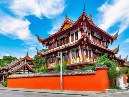 Chengdu, capitale du Sichuan