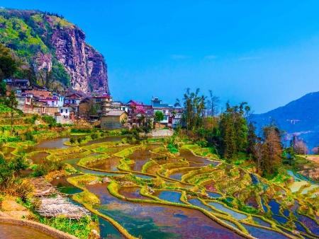 Yuanyang et ses rizières en terrasse