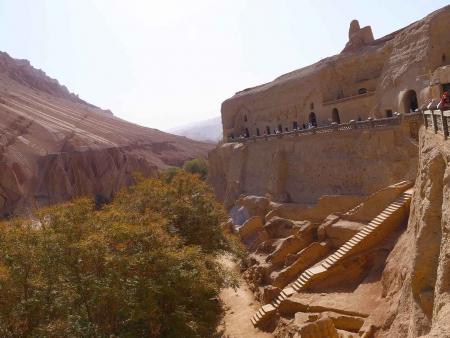 Grottes aux Mille Bouddhas de Bezeklik de Turpan