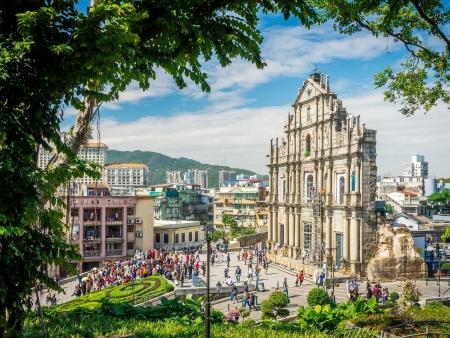 Macao, rencontre en l'Occident et l'Orient