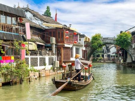 Zhujiajiao, village d'eau