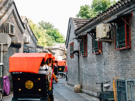 Cylo-pousse dans les Hutong