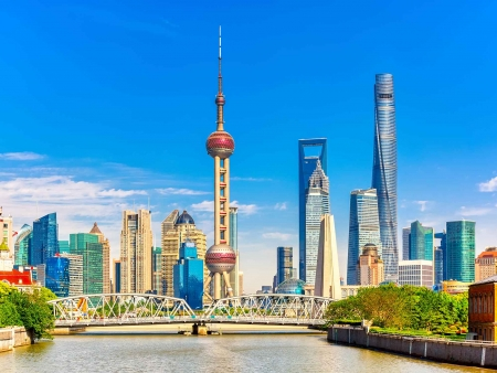 Cap vers Shanghai