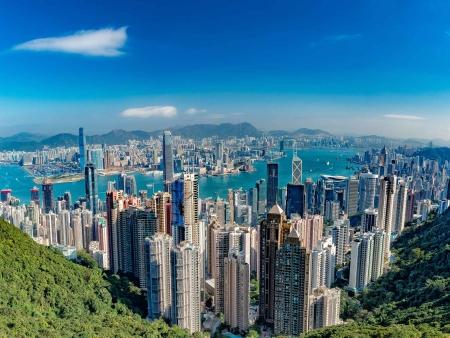 Pic Victoria, panorama sur les hauteurs de Hong Kong