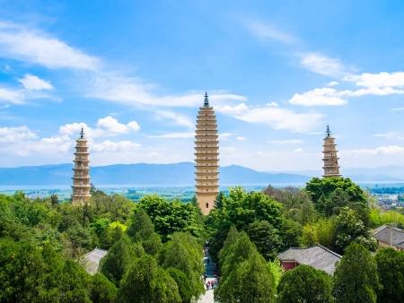 Temple des trois pagodes de Dali