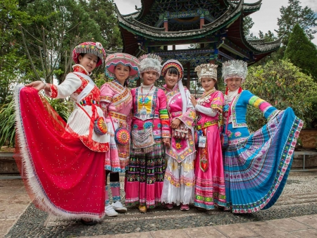 Villages authentiques de la minorité Bai