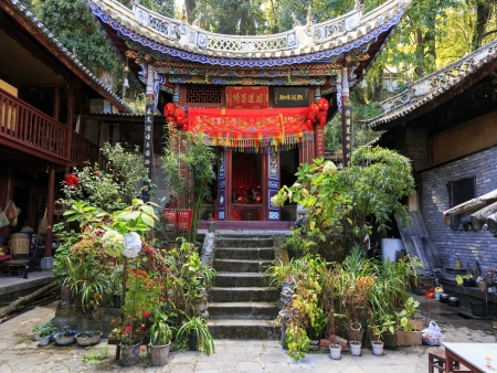 Monastères taoistes de Weibaoshan