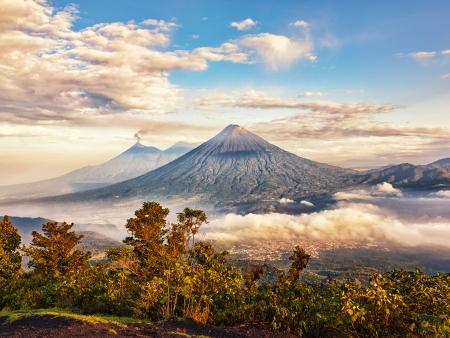Antigua, terres de volcans