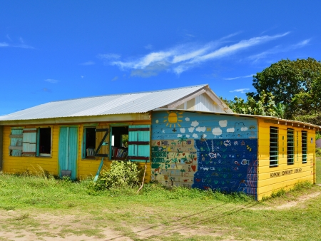 Hopkins, village Garifuna