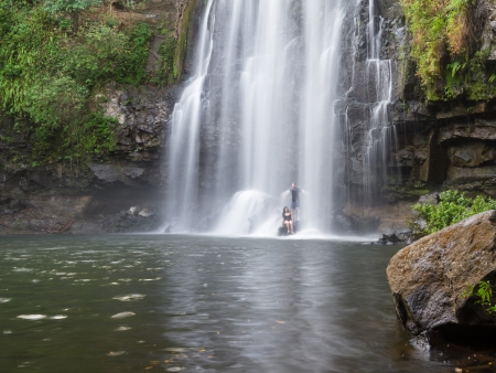 Descente en bouée sur le Rio Celeste